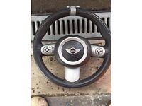 R53 cooper S steering wheel