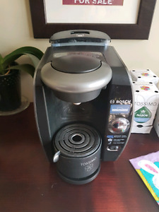 Bosch Tassimo with tea and coffee