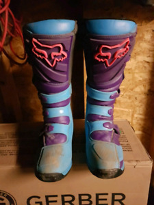 Fox dirtbike boots