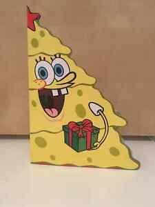 SpongeBob Christmas tree book +6 more