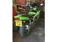 Kawasaki ninja zx6r absolute bargain