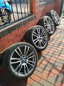 BMW 403m alloy wheels