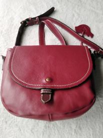 White Stuff genuine leather handbag