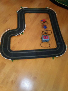 Scalextric Track, Transformer and Hand Controls