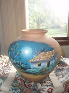 1/2  OFF~ Hand Painted Terracotta Pottery from Costa Rica ~