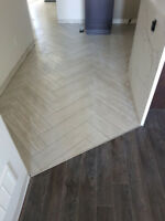 Professional Tile Installer Available.