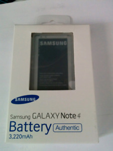 New Samsung Note 4 OEM battery