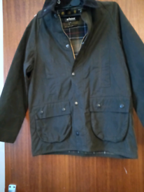 Barbour wax jacket age 12/13 years