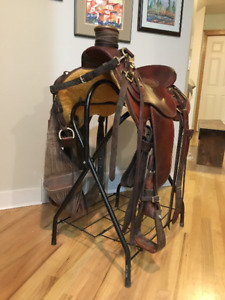 Experience Leather Wade Saddle For Sale
