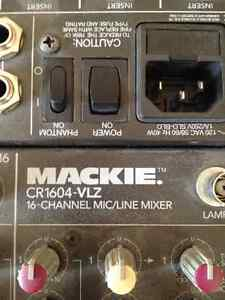 Mackie CR1604 VLZ 16 Channel Mixing board
