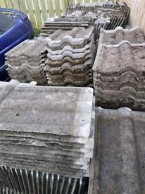 Reclaimed redland roof tiles