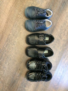 boys shoes (3 pairs) size 5-6