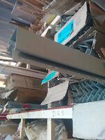 plusieurs sorte revêtre vinyle,aluminium,flat, j, et soffite