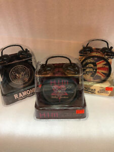 Rock Twin Bell Alarm Clocks - $15