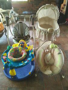 Bassenett jumper swing baby seat