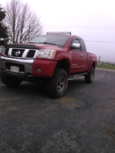 Real head turner ..Lifted and fully  loaded Nissan Titan