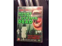 Night if the living dead DVD.