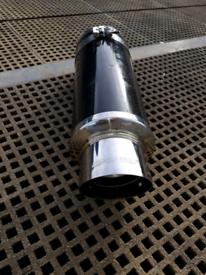 universal carbon fibre rear box vw audi kia fiat skoda renault bmw RS