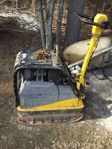 Diesel tamper plate for rent