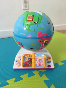 Globe terrestre de Fisher Price