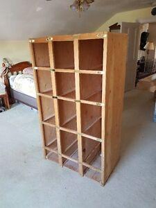 Wooden Storage unit