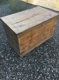 Large storage chest.