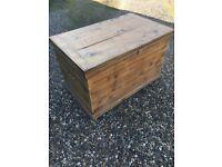 Large storage chest.