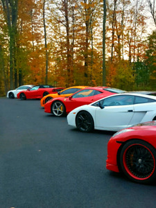 exotic car test drives/track experiences or amazing tours!