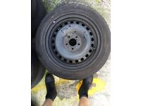 Ford C-Max Focus Mondeo steel wheel with great tyre 205/55/16