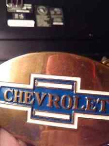 Vintage Chevrolet Belt Buckle Windsor Region Ontario image 1