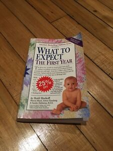 What to Expect - The First Year - Pregnancy Book Baby Book London Ontario image 1