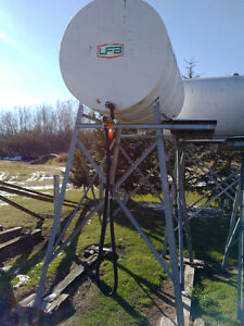 500gal Fuel Tanks & Stands Strathcona County Edmonton Area image 1