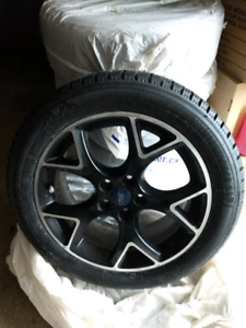 Ford Factory OEM 17 inch Rims & Winter tires