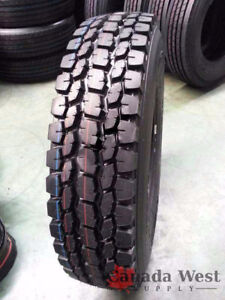 NEW TRUCK TIRES DRIVE / STEER 11r22.5 / 11r24.5