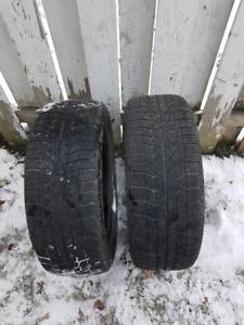 2 pneu hiver neige et glace Michelin x ice
