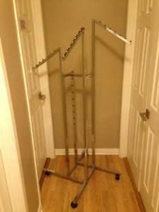 Chrome Clothing Rack