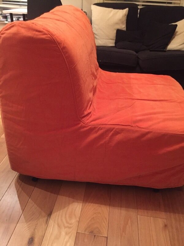 Orange Ikea Sofa Ikea Nockeby Sofa Slipcover Risane Orange