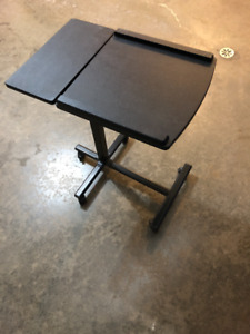 PORTABLE COMPUTER DESK-HARDLY USED!!!