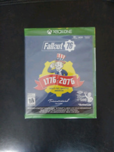 Xbox One Fallout 76 Tricentenial edition New!