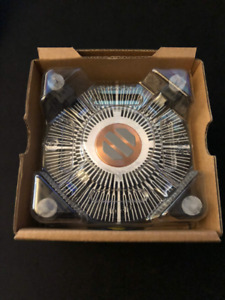 Boite et refroidisseur Intel I7-2600K, boite seul, box only