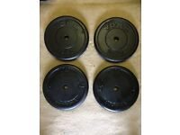 40kg 4x10kg YORK CAST IRON WEIGHT PLATES
