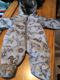 Baby clothes Snowsuit 3-6 months