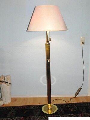 Massiv Messing Stehlampe B+M Lampe B M B&M SIENA Stehlampen Decken Fluter