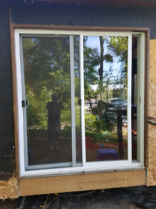 6 foot sliding patio glass door
