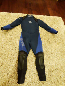 Adult Size Bare Sport S Flex Stretch Neoprene Wetsuit