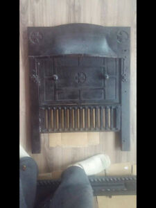 Old Cast Iron Fireplace surround