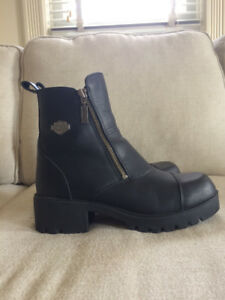 Harley Davidson Motorcycle Boots - Women's Size 9