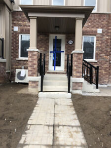 Brand new 1 Bedroom town house for rent in Oshawa (End unit)