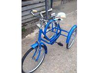 50s Original child's tricycle