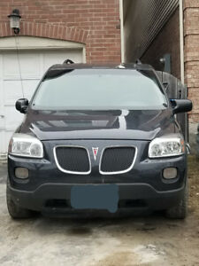 2009 Pontiac Montana SV6 sold as is